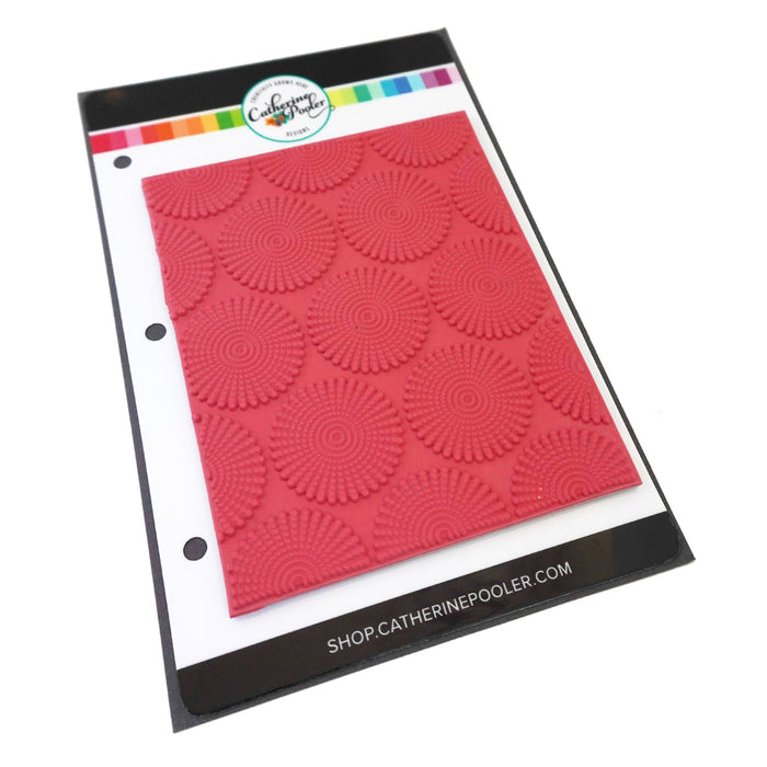 Dotted Bursts Background Stamp