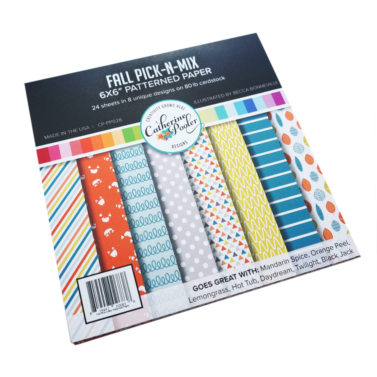 Catherine Pooler Designs Fall Pick-n-Mix Patterned Paper