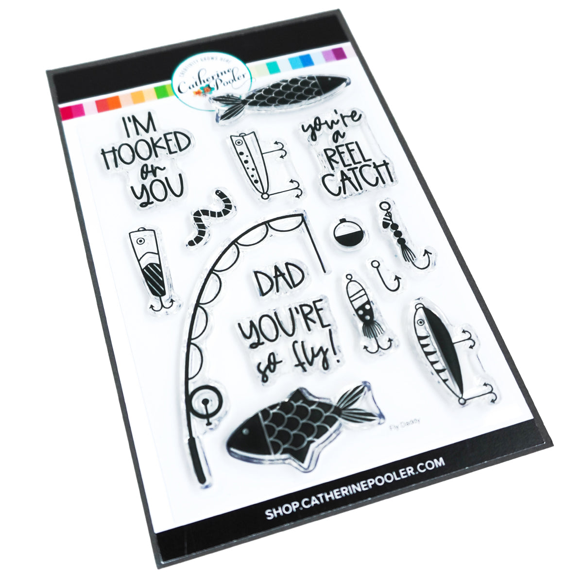 Catherine Pooler Designs Fly Daddy Stamp Set