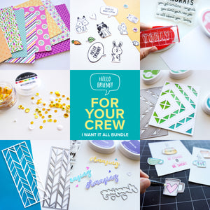 For Your Crew Bundle Graphic