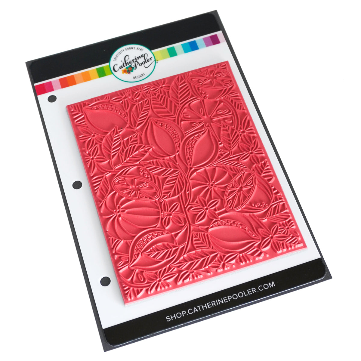 Catherine Pooler Designs Fresh Squeezed Background Stamp