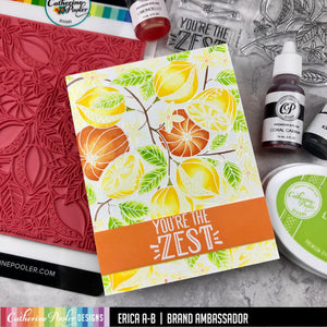 Fresh Squeezed Background Stamp