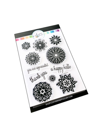 Frosted Blossoms Stamp Set