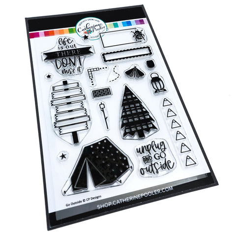 Go Outside Stamp Set