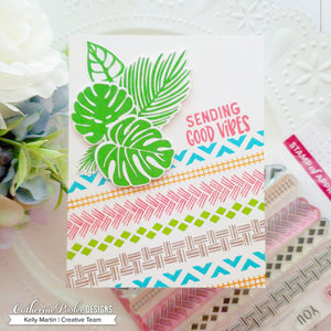 Leave Me in Paradise Stamp Set