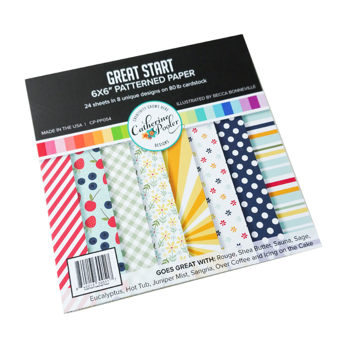 Great Start Patterned Paper