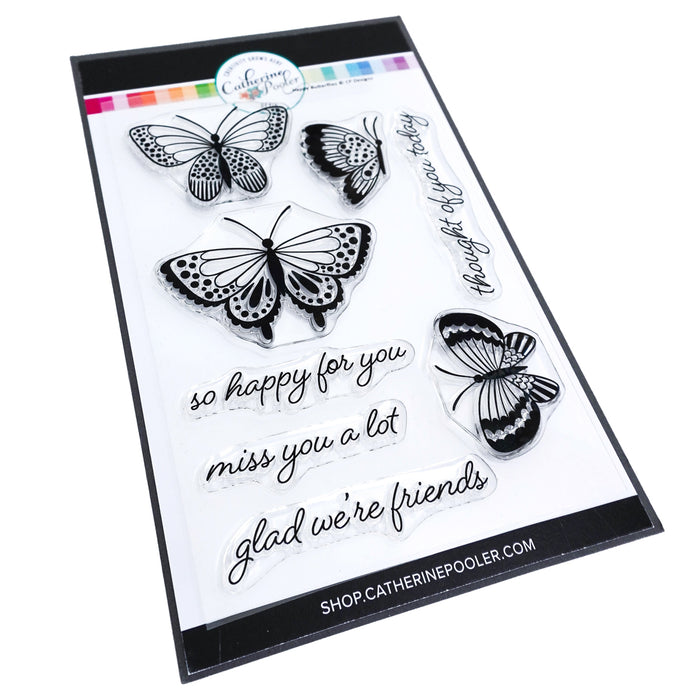 Happy Butterflies Stamp Set