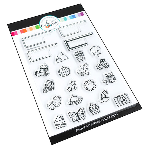 Headers and Icons Stamp Set