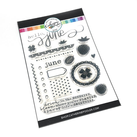 Hello June Stamp Set