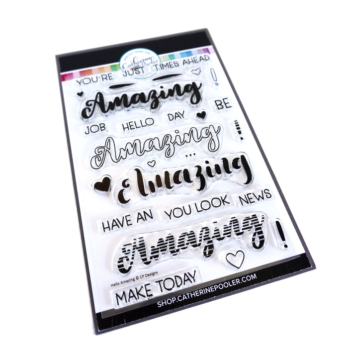 Hello Amazing Stamp Set