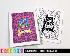 Totally Rad Patterned Paper