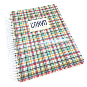 Hip Plaid Canvo Cover