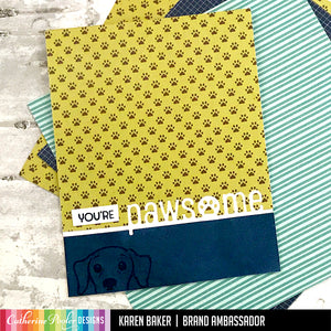 Hipster Patterned Paper