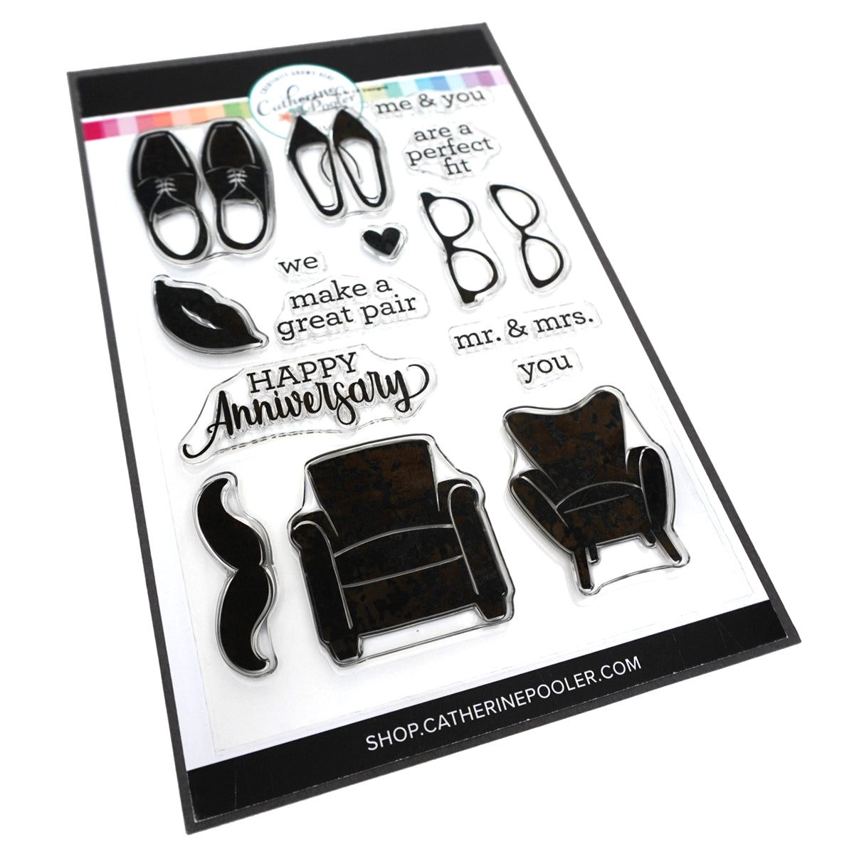 Catherine Pooler Designs His and Hers Stamp Set
