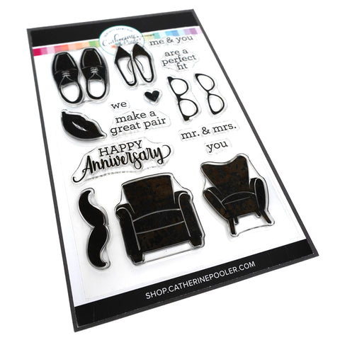 His and Hers Stamp Set