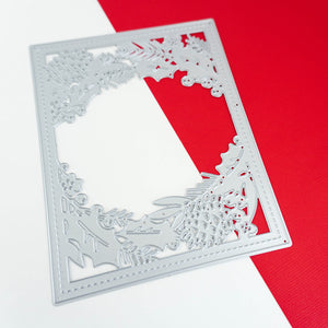 Holly Framed Cover Plate Die