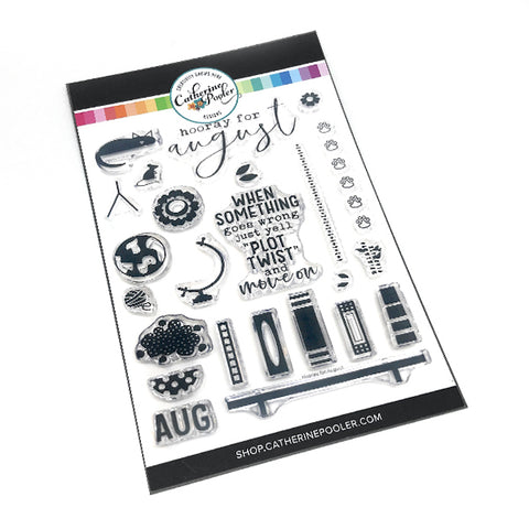 Hooray for August Stamp Set