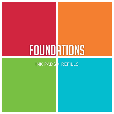 Party Collection: Foundations Ink Pad & Refill Bundle