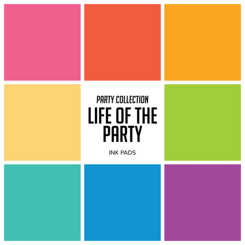 Party Collection : Life of The Party Ink Pads Bundle