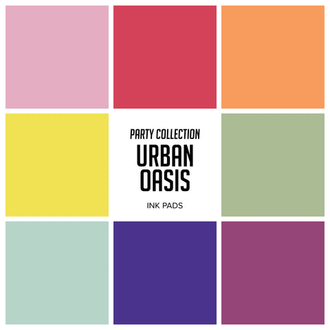 Spa Collection: Urban Oasis Ink Pads Bundle - ALL 8 colors