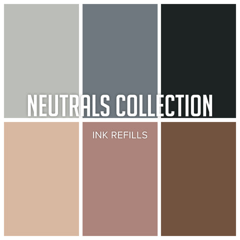 Neutrals Ink Collection: Refill Bundle 6 colors
