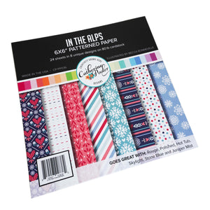 In the Alps Patterned Paper Pack