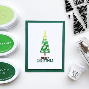 Jolly Trees Stamp Set