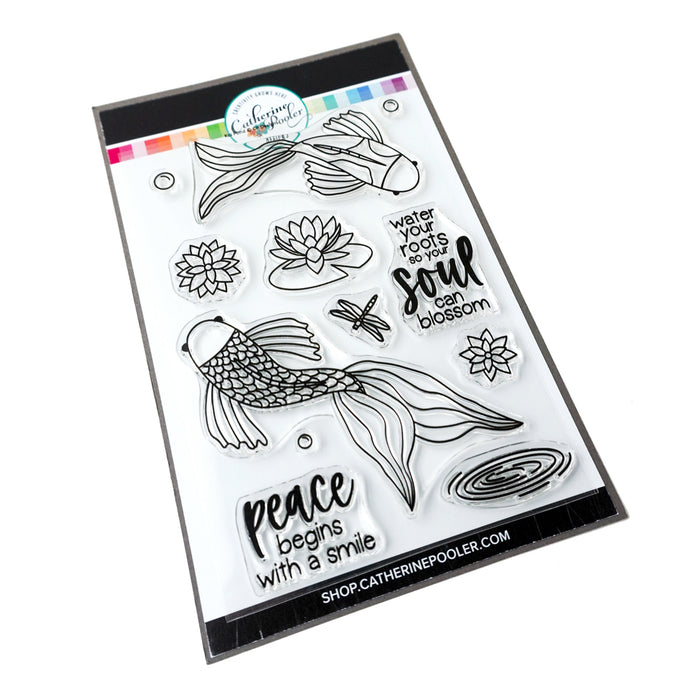 Koi Pond Stamp Set