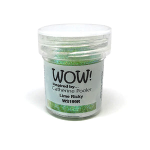 Lime Rickey Embossing Glitter by WOW