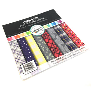 Lumberjack Patterned Paper