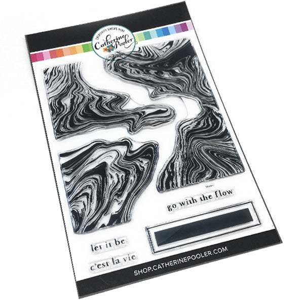 Marble Swirl Stamp Set