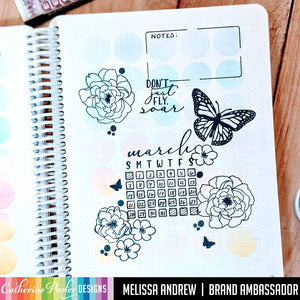 March Habits and Just Soar Canvo Page