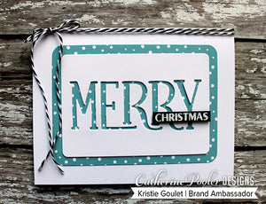 Merry Mini Cover Plate Die
