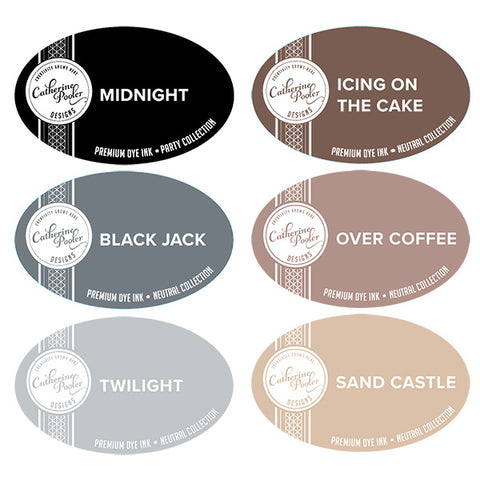 Neutrals Ink Collection: Ink Pad Bundle 6 colors