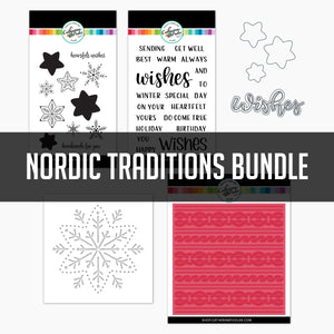 Nordic Traditions Bundle stamps, dies and stencils