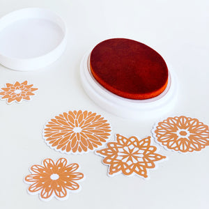 Orange Peel Ink Pad and Refill