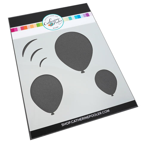 Oval Balloon Stencil