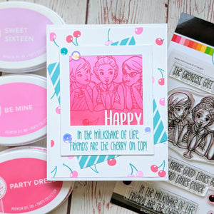 Better With Friends Stamp Set