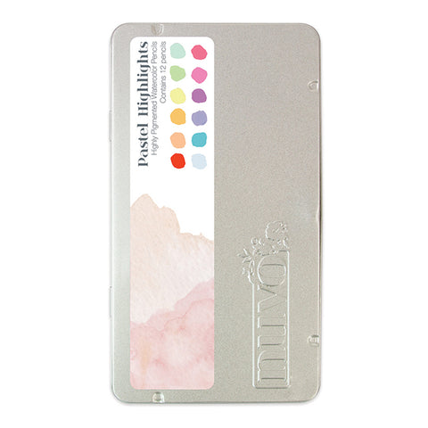 Pastel Highlights WaterColor Pencils by Nuvo