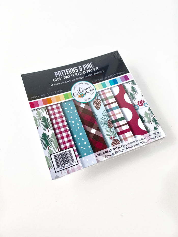 Patterns & Pine Patterned Paper