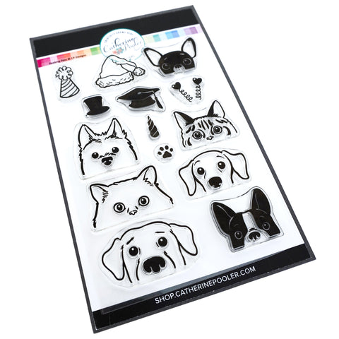 Peeking Pets Stamp Set