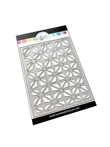 Retro Star Cover Plate Die