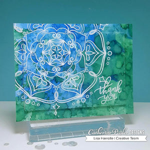 Sandy Background Stamp