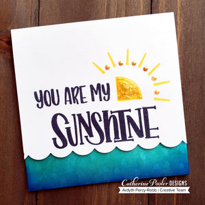 Scatter Sunshine Stamp Set
