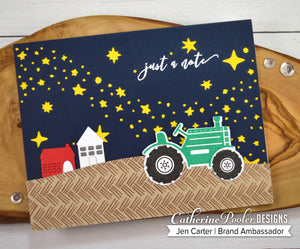 Starry Night Cover Plate Die