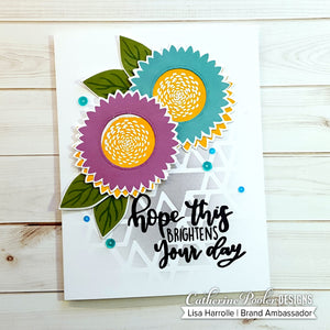 Shine On Sunflowers Stamp Set