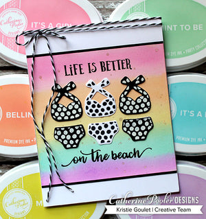 Sunscreen Required Stamp Set