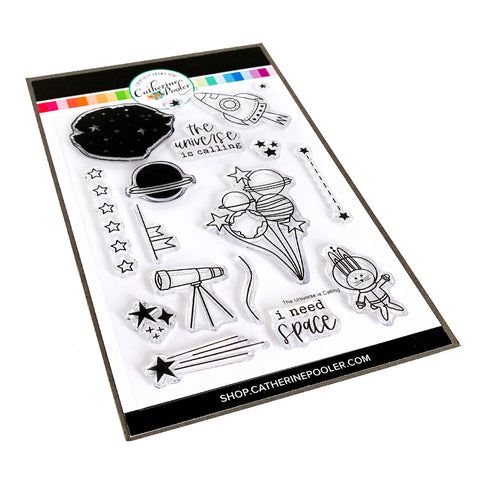 The Universe Is Calling Stamp Set