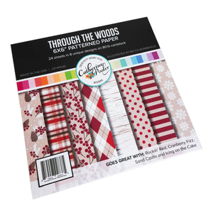 Through the Woods Patterned Paper