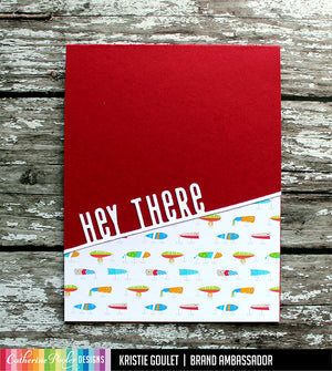 Too Fly Patterned Paper